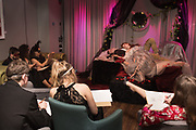 Guests were provided with materials, LONDON DRAWING tableau of tTRISTAN and ISOLDE , the LOST HEARTS: Valentine's Masked Ball. Century Club, Shaftesbury ave, ,  London, 9 February 2019