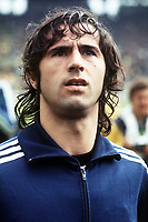 Fotball<br /> Foto: Fotosports/Digitalsport<br /> NORWAY ONLY<br /> <br /> GERD MULLER SCORES SGOAL<br /> WEST GERMANY WORLD CUP 1974 <br /> POLEN V VEST TYSKLAND 07/07/1974