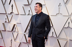 Javier Bardem arrives on the red carpet of The 91st Oscars® at the Dolby® Theatre in Hollywood, CA on Sunday, February 24, 2019.