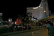 USA, Nevada, Las Vegas, Night photography, Treasure island hotel and casino