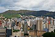 Belo Horizonte_MG, Brasil...Vista panoramica do Bairro Santa Efigenia, Belo Horizonte, Minas Gerais, ao fundo a Serra do Curral...Panoramic view of Santa Efigenia neighborhood in Belo Horizonte, Minas Gerais in the background Serra do Curral...Foto: JOAO MARCOS ROSA / NITRO.