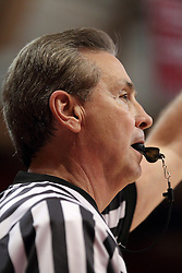 29 November 2014:  Referee Terry Davis during an NCAA men's basketball game between the Youngstown State Penguins and the Illinois State Redbirds  in Redbird Arena, Normal IL.