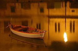 Barca nel porto
