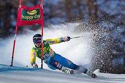 04.12.2016, Val d Isere, FRA, FIS Weltcup Ski Alpin, Val d Isere, Riesen Slalom, Herren, 1. Lauf, im Bild Matts Olsson (SWE) // Matts Olsson of Sweden in action during the 1st run of men's Giant Slalom of the Val d Isere FIS Ski Alpine World Cup. Val d'Isere, France on 2016/12/04. EXPA Pictures © 2016, PhotoCredit: EXPA/ Johann Groder