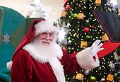 Santa visits and photos at Glendale Galleria.