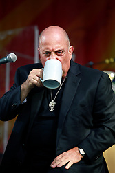 27 April 2013. New Orleans, Louisiana,  USA. .New Orleans Jazz and Heritage Festival. Billy Joel takes to the Acura stage..Photo; Charlie Varley.