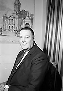 16/2/1966<br /> 2/16/1966<br /> 16 February 1966<br /> <br /> Mr. Peter McGlynn, District Manager for Beamish and Carling who attended the All Ireland Judo Championship Reception at Jurys Hotel, Dublin