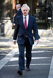 ©  London News Pictures. 05/07/2016. London, UK. DAVID DAVIS MP seen in Westminster, central London on July 5, 2016. Photo credit: Ben Cawthra/LNP