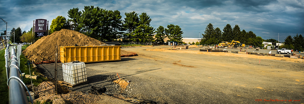 The buildings that housed Friendly's Restaurant, Wendy's Restaurant and an office building that once was the Whitehall Area Chamber of Commerce Visitor's Center in Whitehall Twp., Lehigh County, Pa. have been demolished. The site at 1457 MacArthur Road along the northeastern off-ramp of Rt. 22 near the entrance to Lehigh Valley Mall will become the home of two restaurants including Dave & Busters.  Picture made Sept. 9, 2019. Donna Fisher Photography, LLC