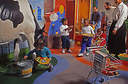 The Please Touch Museum, Children's Museum, Children and Cows. Centennial District of Philadelphia, Pennsylvania