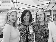 Merrick, New York, USA. September 9, 2017.  L-R, LAURA GILLEN, Democratic candidate for Town of Hempstead Supervisor; SYLVIA CABANA, Democratic candidate for Town of Hempstead Clerk; and SUE MOLLER, of Merrick, Democratic candidate for Hempstead Town Council District 6, attend the Merrick Fall Festival and Street Fair.