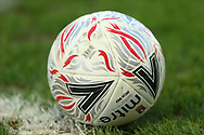 General view of the Mitre Delta Max football during the FA Cup match between Barnsley and Norwich City at Oakwell, Barnsley, England on 23 January 2021.