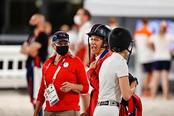 Kraut Laura, USA<br /> Olympic Games Tokyo 2021<br /> © Hippo Foto - Stefan Lafrentz<br /> 07/08/2021
