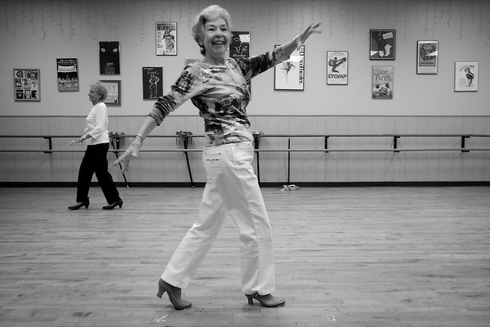 Classy Ladies tap dance, Austin, Texas