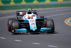March 15, 2019 - Albert Park, VIC, U.S. - ALBERT PARK, VIC - MARCH 15: Williams Racing driver Robert Kubica (88) at The Australian Formula One Grand Prix on March 15, 2019, at The Melbourne Grand Prix Circuit in Albert Park, Australia. (Photo by Speed Media/Icon Sportswire) (Credit Image: © Steven Markham/Icon SMI via ZUMA Press)
