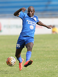 Noah Abich of Bandari FC in action against Sony Sugar during their GOTv Shield quarter finals at Nyayo Stadium in Nairobi on August 19, 2017. Photo/Fredrick Omondi/www.pic-centre.com(KENYA)