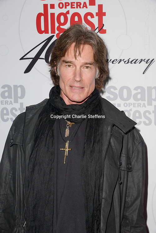 RONN MOSS at Soap Opera Digest's 40th Anniversary party at The Argyle Hollywood in Los Angeles, California