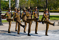 Changing of the Guard, Fidel Castro grave.Cuba 2020 from Santiago to Havana, and in between.  Santiago, Baracoa, Guantanamo, Holguin, Las Tunas, Camaguey, Santi Spiritus, Trinidad, Santa Clara, Cienfuegos, Matanzas, Havana