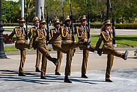 Changing of the Guard, Fidel Castro grave.Cuba 2020 from Santiago to Havana, and in between.  Santiago, Baracoa, Guantanamo, Holguin, Las Tunas, Camaguey, Santi Spiritus, Trinidad, Santa Clara, Cienfuegos, Matanzas, Havana