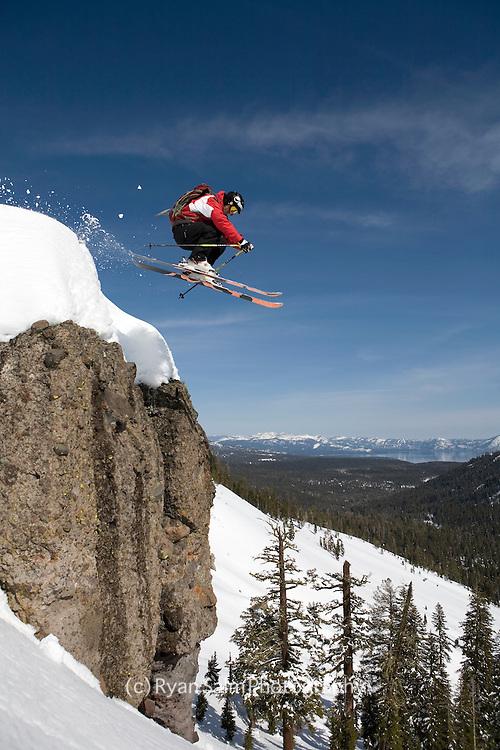 Alpine Meadows SideCountry Skiing