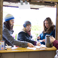The Maple Festival has one signature dish lovingly known as the hot stir. Patrons of the festival visit the Stir Shack for their taste of the sweet treat.