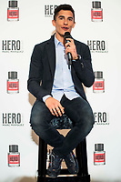 "World Championship Motorcyclist Marc Marquez present his new fragrance ""Hero Sport"" at Casa del Lector in Madrid. October 05, Spain. 2016. (ALTERPHOTOS/BorjaB.Hojas)"