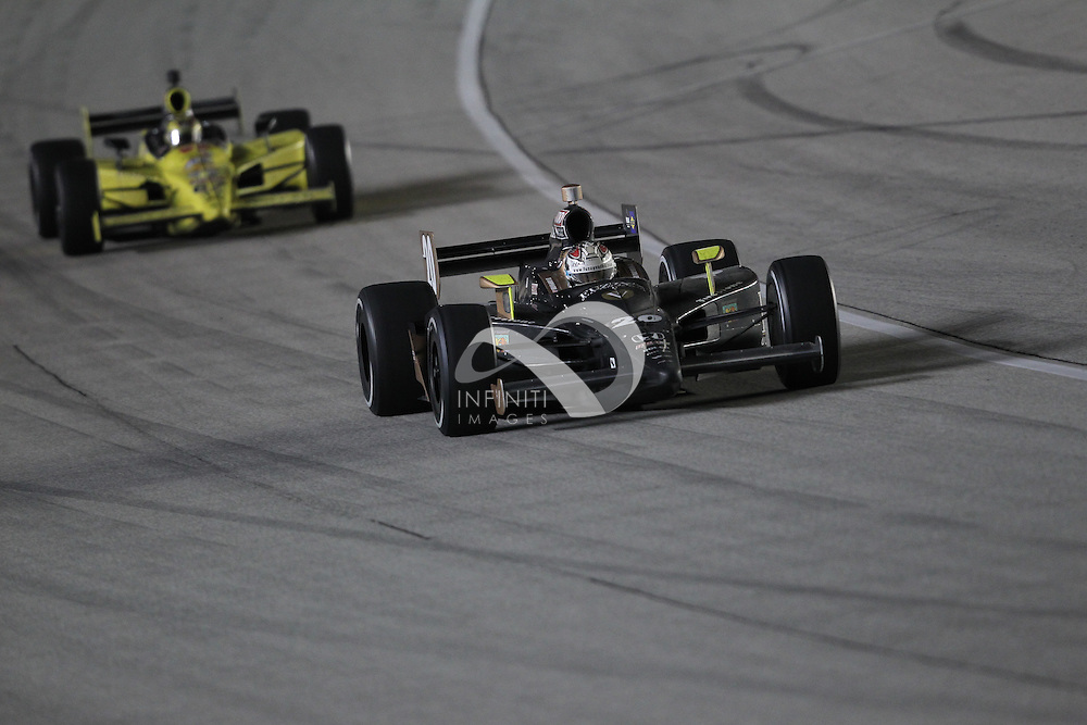 Photos of team Fuzzy's Vodka at PEAK ANTIFREEZE AND MOTOR OIL INDY 300 at Chicagoland Speedway in Joliet, Illinois. <br /> <br /> Motorsports photography by Michael Hickey, Infiniti Images