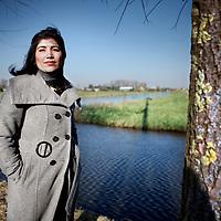 Nederland, Akersloot , 21 februari 2011..Rana Saleem, provinciaal kandidaat voor de PVV..Foto:Jean-Pierre Jans