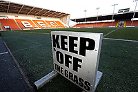 A general view of Bloomfield Road, home of Blackpool Football Club<br /> <br /> Photographer Rich Linley/CameraSport<br /> <br /> The EFL Sky Bet League One - Blackpool v Barnsley - Saturday 22nd December 2018 - Bloomfield Road - Blackpool<br /> <br /> World Copyright © 2018 CameraSport. All rights reserved. 43 Linden Ave. Countesthorpe. Leicester. England. LE8 5PG - Tel: +44 (0) 116 277 4147 - admin@camerasport.com - www.camerasport.com
