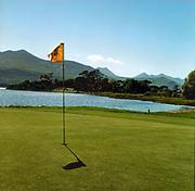 The 1st hole on Killeen Golf Course Killarney.<br /> Photo Don MacMonagle