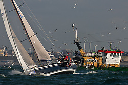 North Sea Regatta, start vuurschepen race, Scheveningen, the Netherlands, May 31st 2011  © Sander van der Borch