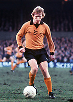 Fotball<br /> England historie<br /> Foto: Colorsport/Digitalsport<br /> NORWAY ONLY<br /> <br /> Willie Carr (Wolves) . Ipswich Town v Wolverhampton Wanderers. 29/1/77. 1976/77.