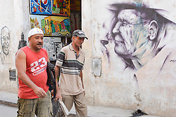 November 27, 2016 - Havana, Cuba - A scene from a daily life in Havana on November 26, 2016, the next day after Fidel Castro, Cuba's historic revolutionary leader, and the former Prime Minister and President of Cuba, dies on the late night of November 25, 2016, at age of 90. . Fidel Castro died aged 90. One of the world's longest-serving rulers and modern history's most singular characters, Castro defied 11 US administrations and hundreds of assassination attempts..On Saturday, 25 November 2016, in Havana, Cuba. (Credit Image: © Artur Widak/NurPhoto via ZUMA Press)