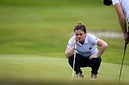 28-05-2016 Foto's van de kruisfinales in de hoofdklasse van de NGF Competitie 2016.<br /> Foto: Britt Steeghs - Dames Koninklijke Eindhovensche 1. Genomen tijdens Finaleweekend NGF Hoofdklasse 2016 bij Goyer Golf & Country Club in Eemnes, Nederland.