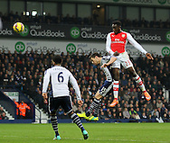 Arsenal's Danny Welbeck scoring his sides opening goal<br /> <br /> Barclays Premier League- West Bromwich Albion vs Arsenal - The Hawthorns - England - 29th November 2014 - Picture David Klein/Sportimage