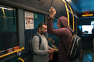 On Omar's first day in Norway, Nader acts as his mentor and guide, since social workers are burdened with so many cases. They travel to the refugee introduction centre, police station, hospital and bank all in the first day, getting Omar papers, an ID number, health check and a bank account.