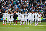 Real Madrid moments before match starts