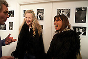 JANIE HEYWORTH; DEBBIE VON BISMARCK, The Way We Wore.- Photographs of parties in the 70's by Nick Ashley. Sladmore Contemporary. Bruton Place. London. 13 January 2010. *** Local Caption *** -DO NOT ARCHIVE-© Copyright Photograph by Dafydd Jones. 248 Clapham Rd. London SW9 0PZ. Tel 0207 820 0771. www.dafjones.com.<br /> JANIE HEYWORTH; DEBBIE VON BISMARCK, The Way We Wore.- Photographs of parties in the 70's by Nick Ashley. Sladmore Contemporary. Bruton Place. London. 13 January 2010.
