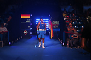 Boxen: AIBA Box-WM, Day 3, Hamburg, 20.08.2017<br /> Mittelgewicht 75 Kg: Ablikhan Amankul (KAZ, Red) - Silvio Schierle (GER, Blue)<br /> © Torsten Helmke
