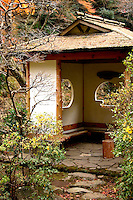 """A stay at a Japanese Inn or """"Ryokan"""" is part of the fun of going to an onsen or spa resort.  There, swaddled in a cotton kimono and wrapped in futon, you eat to your heart's content while endless trays of food are brought to your room - all between dips in the bubbling hot spring pools."""