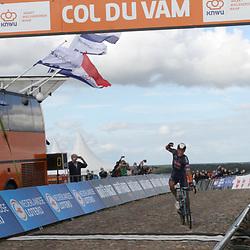 23-08-2020: Wielrennen: NK elite: Drijber: Mathieu van der Poel wint op de VAM voor Nils Eekhoff en Timo Roosen.