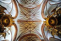 Sweden, Stockholm. Storkyrkan is the oldest church in Gamla Stan.