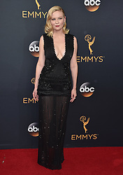 Kirsten Dunst attends the 68th Annual Primetime Emmy Awards at Microsoft Theater on September 18, 2016 in Los Angeles, California. Photo by Lionel Hahn/ABACAPRESS.COM