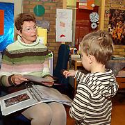 Basisschool de Terp Schoolpad 1 Weesp Marijke Smeink 25 jaar fulltime vrijwilligerster
