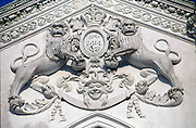 Crest at a Buddhist Temple.