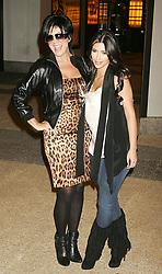 Aug 26, 2008 - New York, NY, USA - Personalities KRIS JENNER and her daughter KIM KARDASHIAN pose for photos MTV's TRL held at Times Square (Credit Image: Nancy Kaszerman/ZUMAPRESS.com)