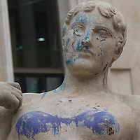 Graffitied Woman