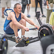 Peter Fraser MALE HEAVYWEIGHT Masters D 1K Race #9  11:15am<br /> <br /> <br /> www.rowingcelebration.com Competing on Concept 2 ergometers at the 2018 NZ Indoor Rowing Championships. Avanti Drome, Cambridge,  Saturday 24 November 2018 © Copyright photo Steve McArthur / @RowingCelebration