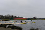 Eton, GREAT BRITAIN,  GV, General View, GB Trials 3rd Winter assessment at,  Eton Rowing Centre, venue for the 2012 Olympic Rowing Regatta, Trials cut short due to weather conditions forecast for the second day Saturday  12/02/2011   [Photo, Peter Spurrier/Intersport-images]Dorney Lake