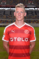 02.07.2015, Esprit Arena, Duesseldorf, GER, 2. FBL, Fortuna Duesseldorf, Fototermin, im Bild Axel Bellinghausen ( Fortuna Duesseldorf / Portrait ) // during the official Team and Portrait Photoshoot of German 2nd Bundesliga Club Fortuna Duesseldorf at the Esprit Arena in Duesseldorf, Germany on 2015/07/02. EXPA Pictures © 2015, PhotoCredit: EXPA/ Eibner-Pressefoto/ Thienel<br /> <br /> *****ATTENTION - OUT of GER*****